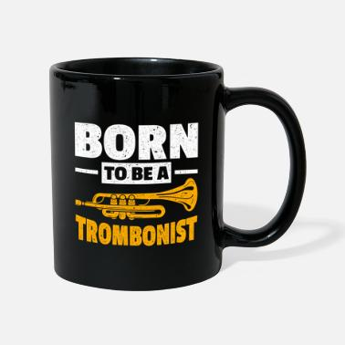 Can Trombone trombone player - Mug