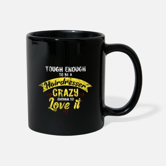 Gift Idea Mugs & Drinkware - Barber profession - Mug black