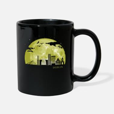 Town DUBLIN Moon Light Night Stars Skyline - Mug