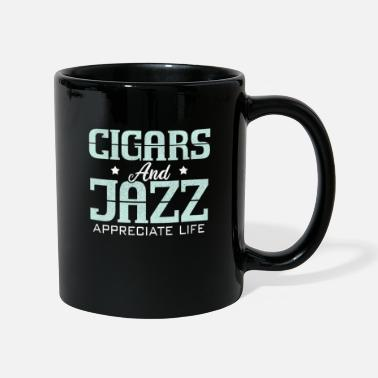 Cigar Club Cigar and Jazz Music Smoking Gentleman Club - Mug