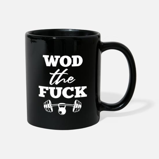 Gift Idea Mugs & Drinkware - Wod The Fuck No. 8th - Mug black