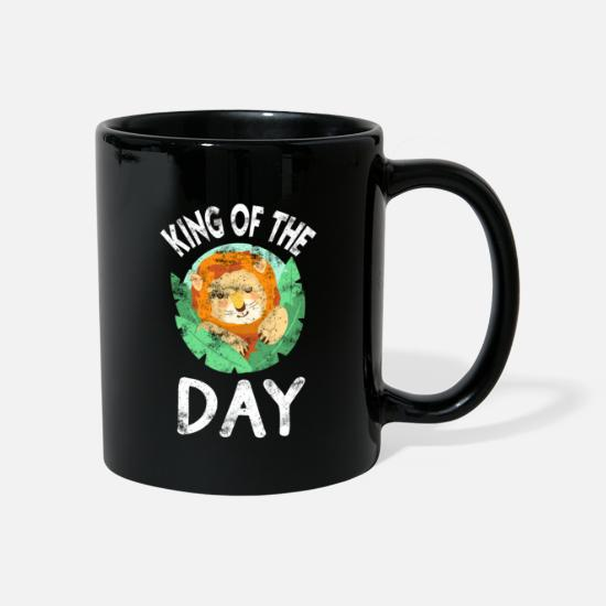 Birthday Mugs & Drinkware - Lion kids birthday BDay son gift - Mug black