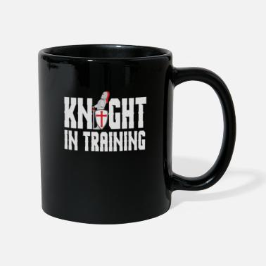 Set Funny Knight In Training Medieval Armour gift - Mug
