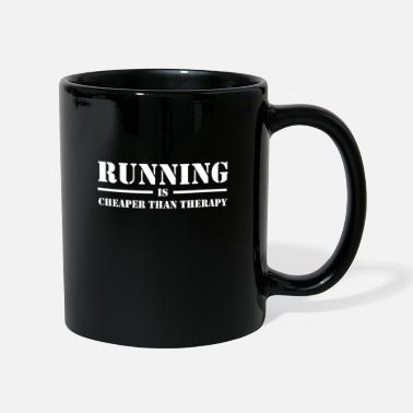 Best Friends Running Is Cheaper Than Therapy No. 7 - Mug