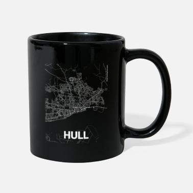 City Of Hull Hull city map and streets - Mug