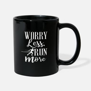 Probleme Worry Less Run More No. 9 - Tasse