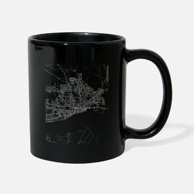City Of Hull Minimal Hull city map and streets - Mug