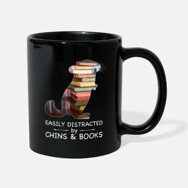 Easily Distracted by Chins & Books | Chinchillas - Tasse