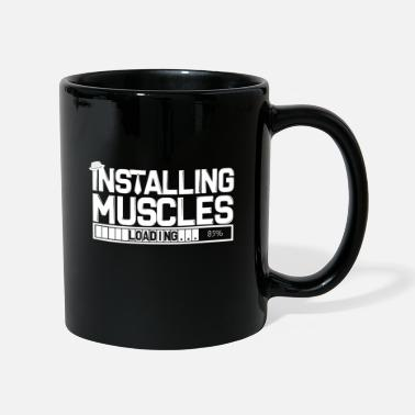 Abe Muscles Training Sexy Dumbbells Weights Workout - Mug