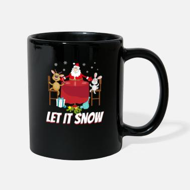 Kokain Santa Santa Let It Snow Ugly Christmas - Mugg