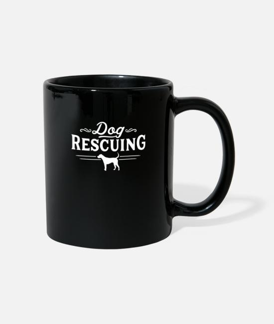 Salvation Mugs & Drinkware - Dog rescue - Mug black