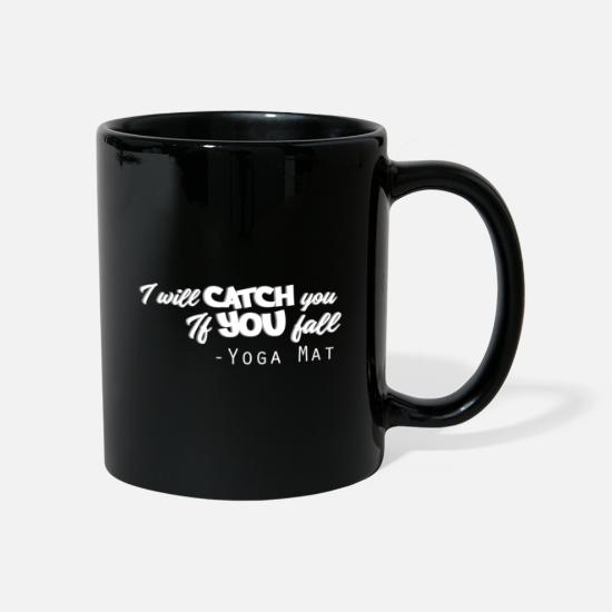 Girlfriend Mugs & Drinkware - I will catch you if you fall - Mug black