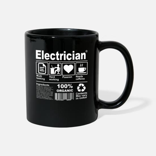 Electrician Mugs & Drinkware - Electrician - Mug black