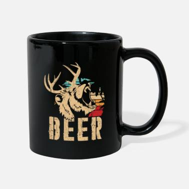 Bear Face Beer | Bear and deer roar - Mug