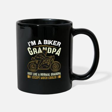Fitness Biker - I'm A Biker Grandpa Just Like A Normal - Kubek