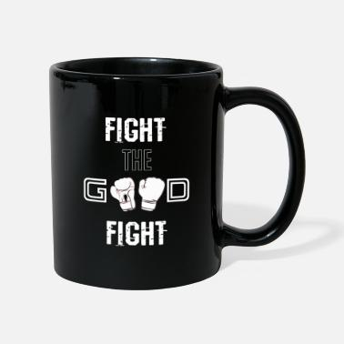 Fight Fight the Good Fight White - Tasse
