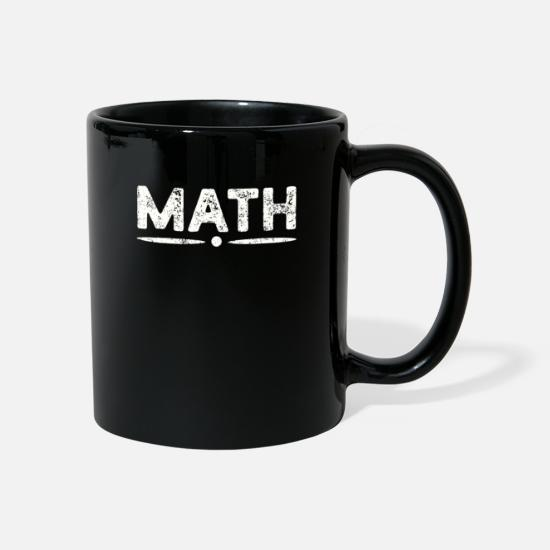 Teacher Mugs & Drinkware - maths - Mug black