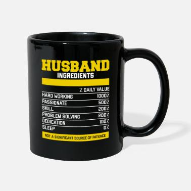 Hubby Epic Husband Ingredients Tea - Mug