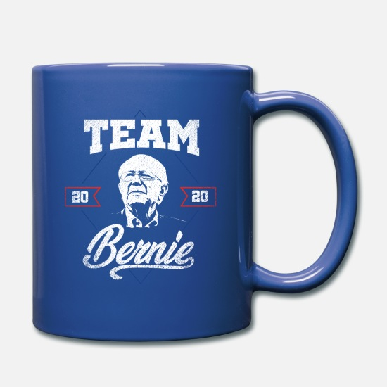 Bernie Sanders Mugs & Drinkware - Team Bernie 2020 - Mug royal blue