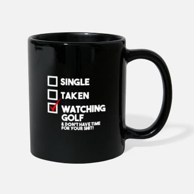 Golf Instrution Watching golf - Mug
