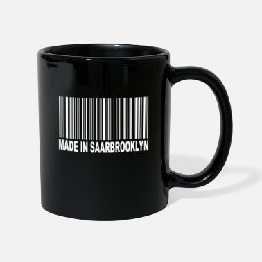 Aufkleber Made in Saarbrooklyn - Tasse