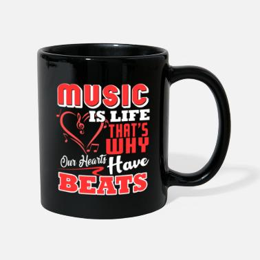 Music Teacher Music Teacher Music Teacher Music Is Life - Mug