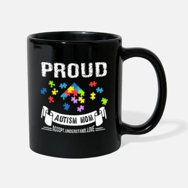Awareness Autism Awareness Proud Autism Mom - Mug
