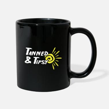 Bees Wolf Tanned and tipsy beach and party goer gift - Mug