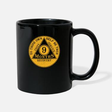 Sober 9 months sobriety coin recovery coin gift - Mug
