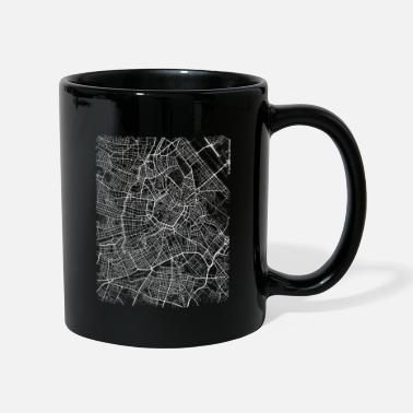 Stadt Minimal Wien Innere Stadt city map and streets - Mug