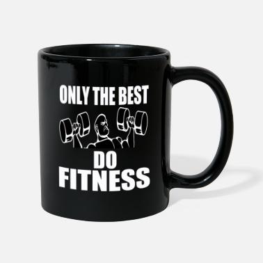 Power Lifting Fitness only the best gym workout gift - Mug
