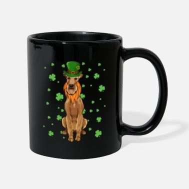 Amoureux Des Chiens St Patricks Day Pointer Dog Shamrock Gift - Mug
