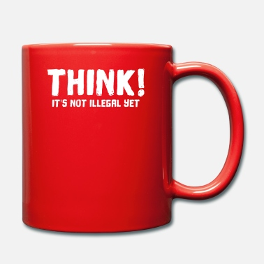 Yourself Think it's not illegal yet funny - Mug
