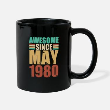 40th Birthday May 1980 40th birthday 40 years bday gift - Mug