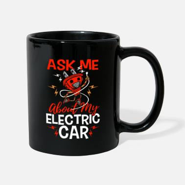 Download Ask me about my electric car gift electric car - Mug