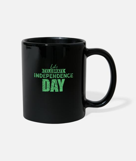 Usa Mugs & Drinkware - America Independence Day - Mug black
