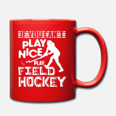 Playing Field Field Hockey Play Field Hockey - Mug