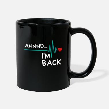 Heart Annnd I'm Back. Heart Attack Survivor Product Fun - Mug