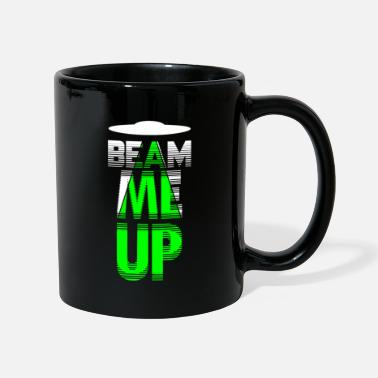 Governo Beam Me Up Shirt Alien Conspiracy Dimensione del rapimento - Tazza