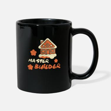 Merry Master Builder Gingerbread House Holiday Gift Gift - Mug