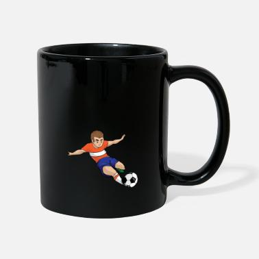 Soccer Soccer player grabs soccer player, gift - Mug