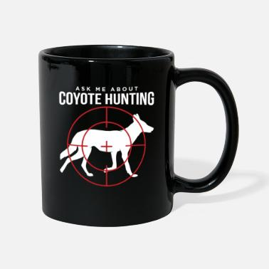 Hunting Ask Me About Coyote Hunting Hunter Gift design - Mug