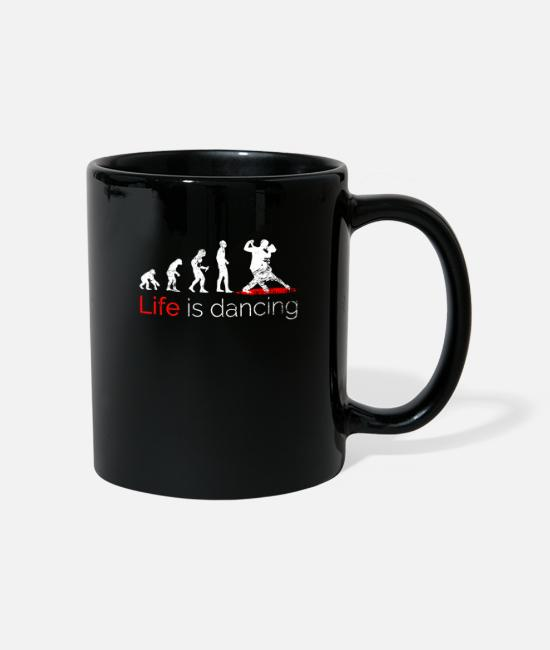 Flodees Mugs & Drinkware - Funny saying dance dance floor dance - Mug black