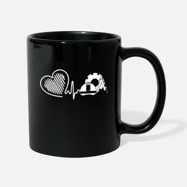 Civil Engineering Civil Engineer Civil Engineer Heartbeat - Mug