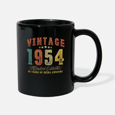 December Gift for 66th birthday vintage 1954 66 years - Mug