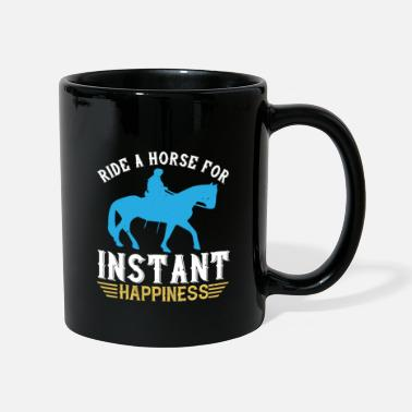 Pony ride a horse for instant happiness - Tasse
