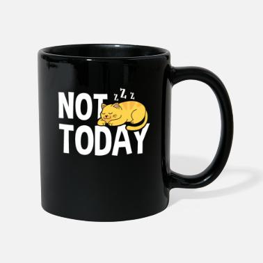 Pizza Not today funny cat mom dad - Mug