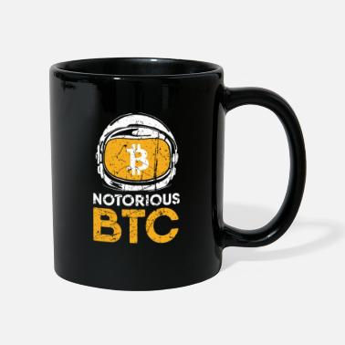 Mor Sjov gave Bitcoin Crypto JUST Shirt - Krus