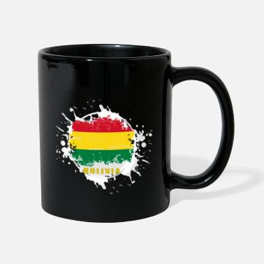 Capitals bolivia flag with blob - Mug