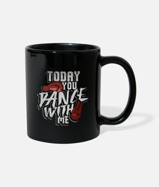 Martial Arts Mugs & Drinkware - Boxing Martial Arts Punch Boxing Gloves Sparring - Mug black